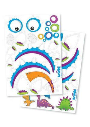Trunkisaurus Extras Dinosaur Sticker Packs