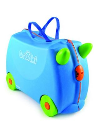 Terrance Ride-on Trunki Suitcase (Blue)