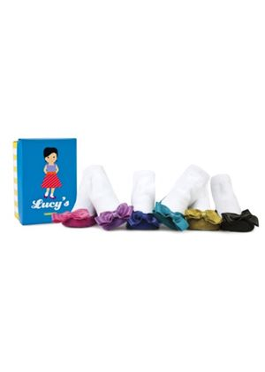 Lucy's Baby Socks (Box of 6) 0-12 Months