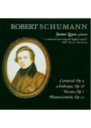 ROBERT SCHUMANN - Carnaval, Arabesque, Fantasy And Toccata (Zayas)