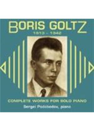 Boris Goltz - Complete Works For Solo Piano (Podobedov)