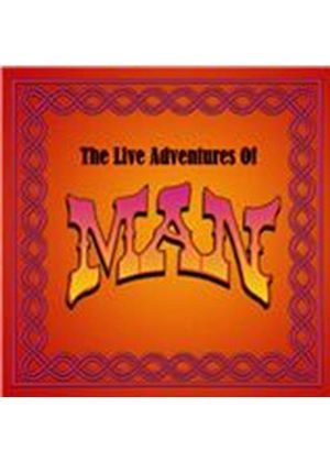 Man - Live Adventures of Man (Live Recording) (Music CD)