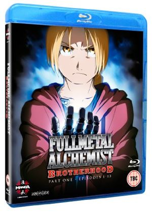 Fullmetal Alchemist Brotherhood Vol.1 (Blu-Ray)