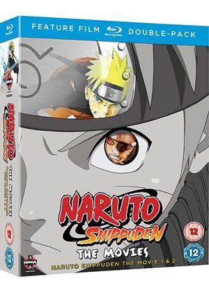 Naruto Shippuden Movie 1 & 2 Double Pack (Blu-Ray)