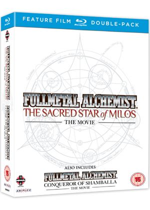 Full Metal Alchemist Movies 1 & 2 Double Pack (Blu-ray)