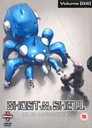 Ghost In The Shell - Stand Alone Complex - Vol. 4 (Animated) (Dubbed And Subtitled) (Two Discs)