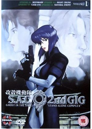 Ghost In The Shell - Stand Alone Complex - 2nd Gig - Vol. 1 (Animated)