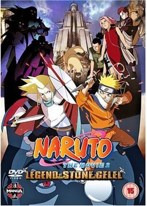Naruto The Movie 2 - Legend Of The Stone Gelee