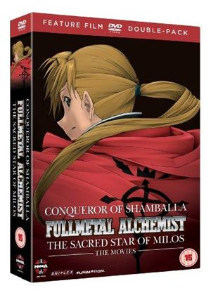 Full Metal Alchemist Movies 1 & 2 Double Pack