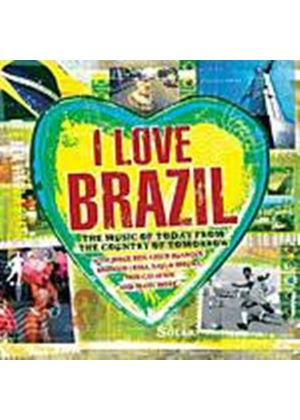 Various Artists - I Love Brazil (Music CD)