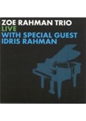 Zoe & Idris Rahman - Live With Special Guest Idris Rahman (Music CD)