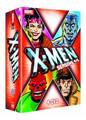 X-Men Seasons 4+5 Box Set (4 Disc)