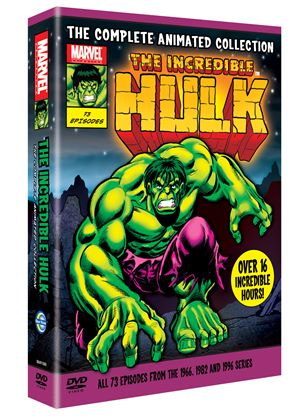 The Incredible Hulk: The Complete Animated Collection (1966, 1982 & 1996)