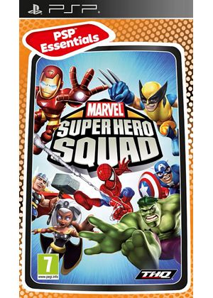Marvel Super Hero Squad - Essential (PSP)