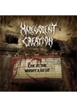 Malevolent Creation - Live At The Whiskey-A-Go-Go (Music CD)