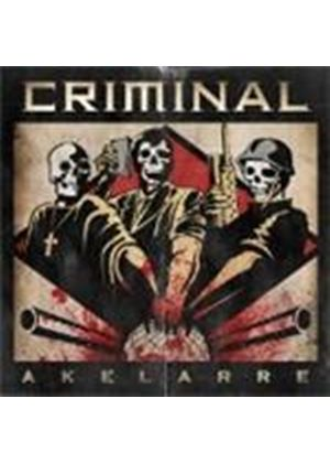 Criminal - Akelarre (Music CD)