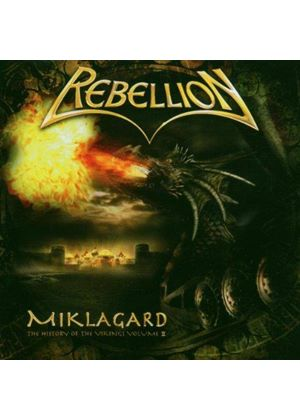 Rebellion - Miklagard (Music Cd)