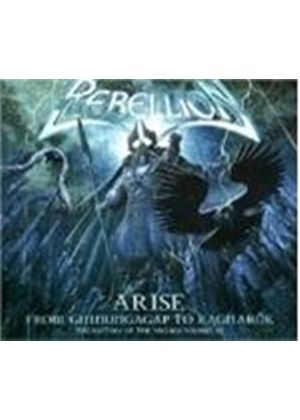 Rebellion - Arise - From Ginnungagap To Ragmarok (Music CD)