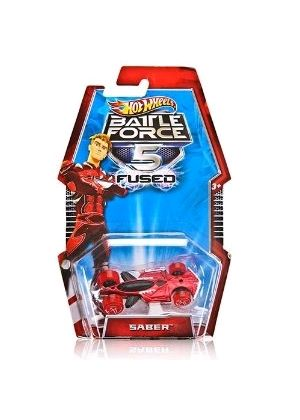 Hot Wheels Battle Force 5 Fused Vehicle - Saber