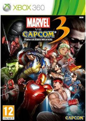 Marvel vs. Capcom 3 - Fate of Two Worlds (XBox 360)