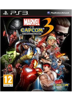 Marvel vs. Capcom 3 - Fate of Two Worlds (PS3)