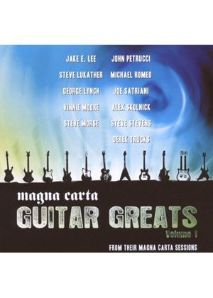 Various Artists - Magna Carta Guitar Greats (Music Cd)