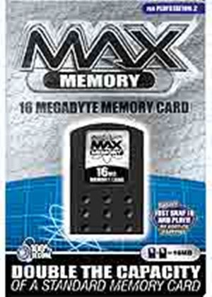 Max Memory 16MB Card (Datel) (PS2)