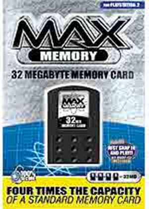 Max Memory 32MB Card (Datel) (PS2)