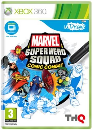 uDraw: Marvel Super Hero Squad - Comic Combat (XBox 360)