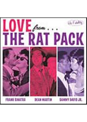 Sinatra, Frank/Dean Martin/Davis Jr. - With Love From The Rat Pack (Music CD)