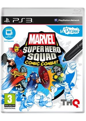 uDraw: Marvel Super Hero Squad - Comic Combat (PS3)