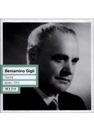 VARIOUS COMPOSERS - Gigli In Berlin - 1954 (Gigli)