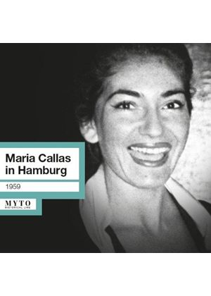 Maria Callas in Hamburg (15.05.1959) (Music CD)