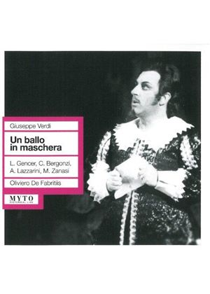 Verdi: Un Ballo in Maschero (Bologna 28/11/1961) (Music CD)