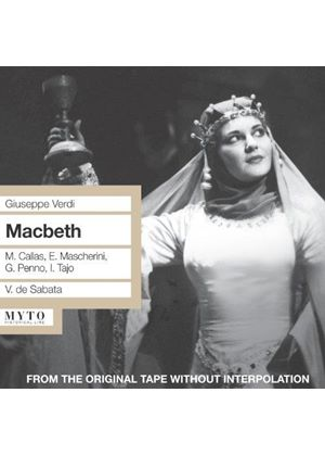 Verdi: Macbeth (Music CD)
