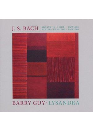 J.S. Bach: Sonata in C major BWV 1005; Barry Guy: Lysandra (Music CD)