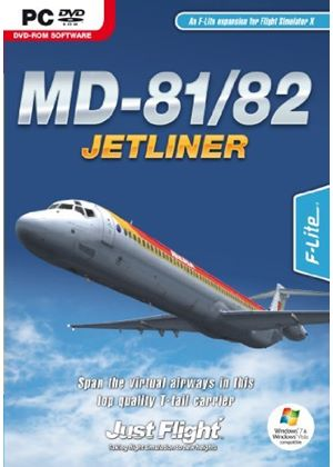 MD-81/82 Jetliner (PC DVD)