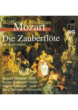 Wolfgang Amadeus Mozart - The Magic Flute (Huntler, Kussmaul, Dieltiens) (Music CD)