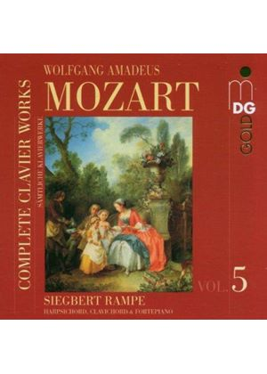 Mozart - COMPLETE PIANO WORKS VOL.5