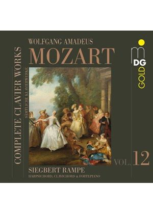 Mozart: Complete Clavier Works, Vol. 12 (Music CD)