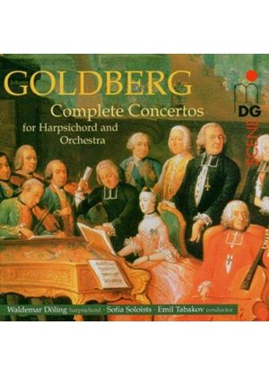 Goldberg: Complete Concertos for Harpsichord & Strings