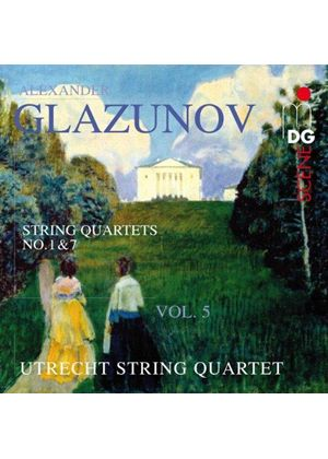 Glazunov: String Quartets, Vol. 5 (Music CD)