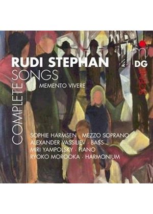 Rudi Stephan: Complete Songs (Music CD)