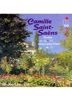 Saint-Saëns: Etudes opp. 52 & 111; Album pour Piano, Op. 72 (Music CD)