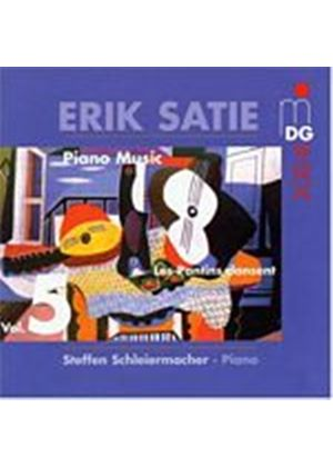 Erik Satie - Piano Music Vol. 5: Les Pantins Dansent (Schleiermacher) (Music CD)