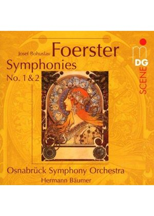 Josef Bohuslav Foerster - Symphonies No. 1 And 2 (Osnabruck Symph Orch)