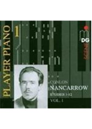 Nancarrow: Studies for Player Piano, Vol 1