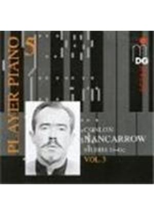 Conlon Nancarrow - Studies For Player Piano Vol. 3 (Music CD)