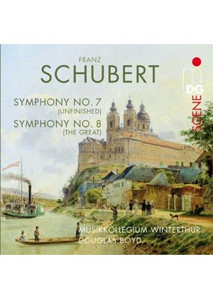 Schubert: Symphonies Nos. 7 & 8 (Music CD)