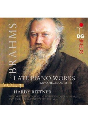 Brahms: Late Piano Works, Vol. 3 (Music CD)